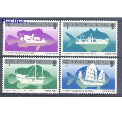 Znaczek Hong Kong 1986 Mi 491-494 Czyste **