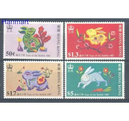 Znaczek Hong Kong 1987 Mi 499-502 Czyste **