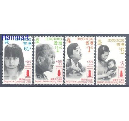 Znaczek Hong Kong 1988 Mi 551-554 Czyste **