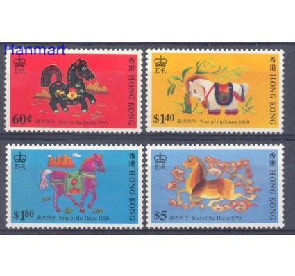 Znaczek Hong Kong 1990 Mi 581-584 Czyste **