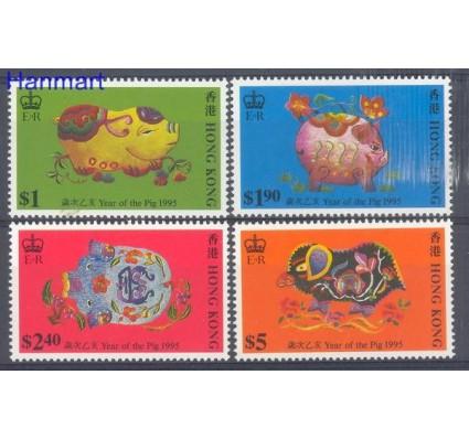 Hong Kong 1995 Mi 732-735 Czyste **