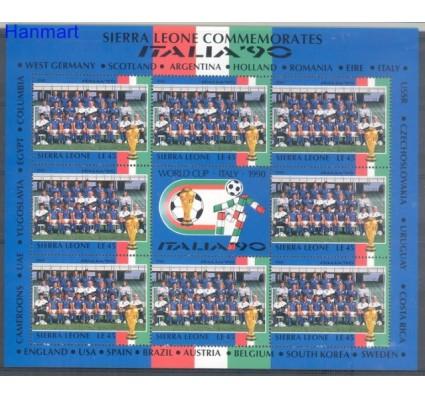 Znaczek Sierra Leone 1990 Mi ark 1448 Czyste **