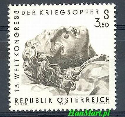 Znaczek Austria 1970 Mi 1337 Czyste **