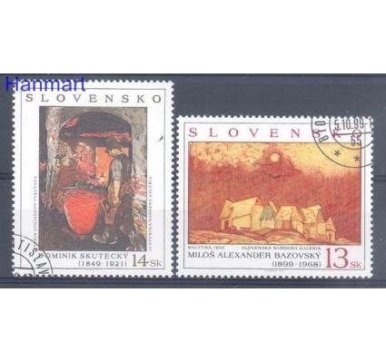 Znaczek Słowacja 1999 Mi 352-353 Stemplowane