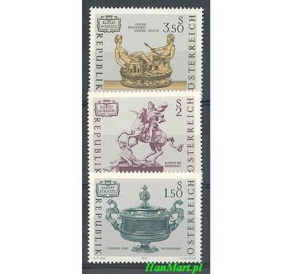Znaczek Austria 1971 Mi 1355-1357 Czyste **