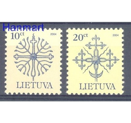 Znaczek Litwa 2004 Mi 717-718CIV Czyste **