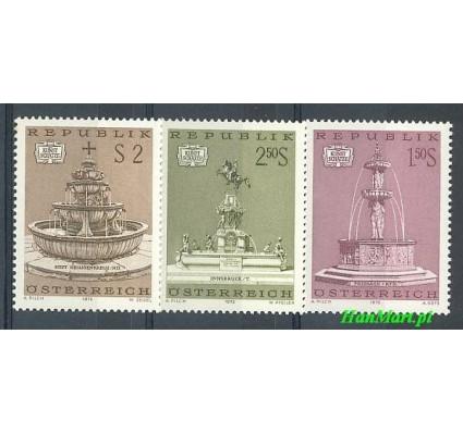 Znaczek Austria 1972 Mi 1382-1384 Czyste **