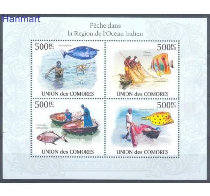 Znaczek Komory 2010 Mi 2686-2689 Czyste **