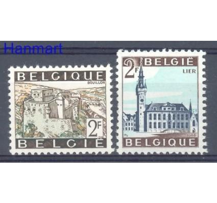 Znaczek Belgia 1966 Mi 1454-1455x Czyste **