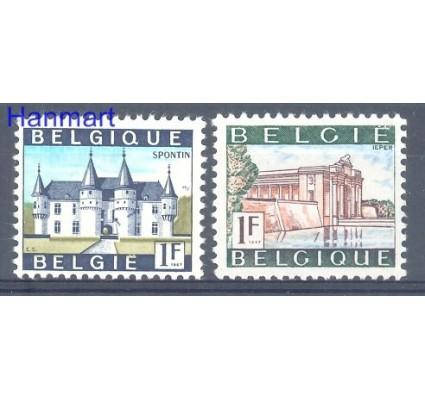 Znaczek Belgia 1967 Mi 1480-1481x Czyste **