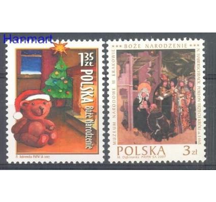 Znaczek Polska 2007 Mi 4341-4342 Fi 4191-4192 Czyste **