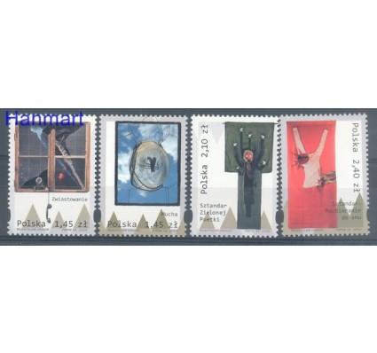 Znaczek Polska 2009 Mi 4413-4416 Fi 4263-4266 Czyste **