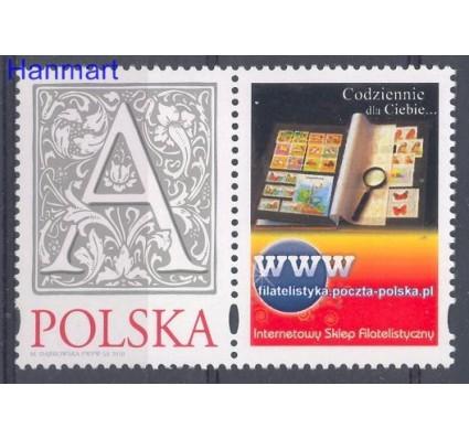 Znaczek Polska 2010 Mi zf 4499 Fi zf 4349 Czyste **