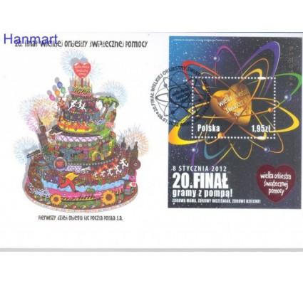 Polska 2012 Mi bl 203 Fi bl 235  FDC
