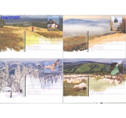 Znaczek Polska 2012 Fi Cp 1594-1597 Całostka pocztowa