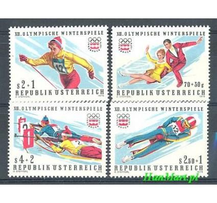 Znaczek Austria 1975 Mi 1499-1502 Czyste **