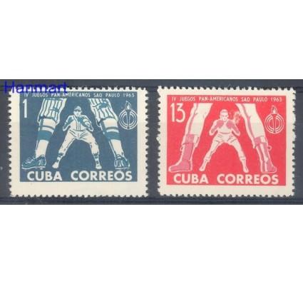 Znaczek Kuba 1963 Mi 841-842 Czyste **