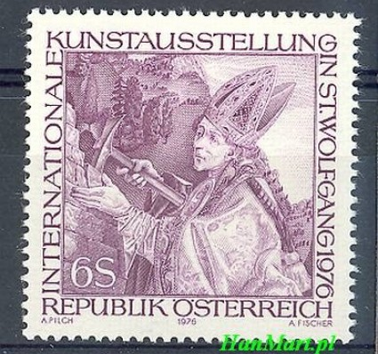 Znaczek Austria 1976 Mi 1515 Czyste **
