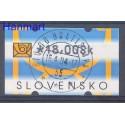 Słowacja 2002 Stemplowane