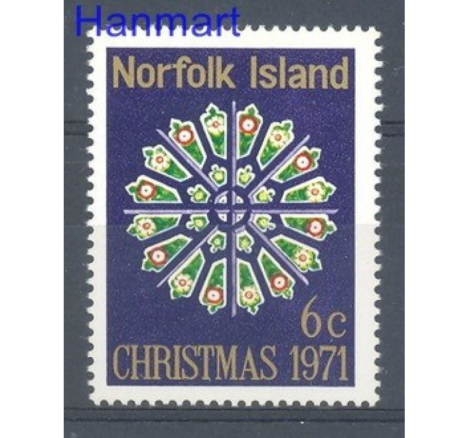 Norfolk 1971 Mi 128 Czyste **