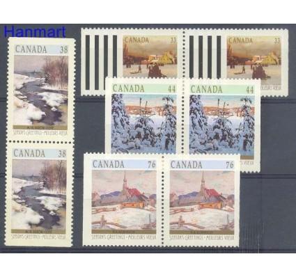 Znaczek Kanada 1989 Mi 1153-1156D Czyste **