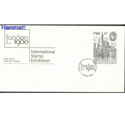 Znaczek Wielka Brytania 1980 Mi 835 FDC