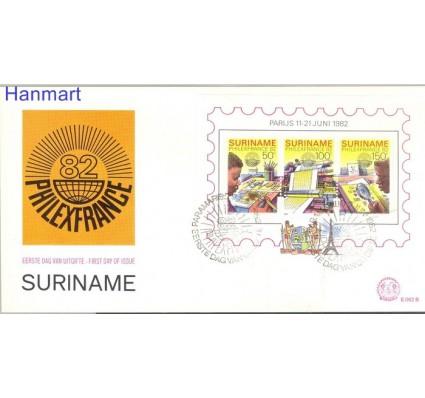 Znaczek Surinam 1982 Mi bl 34 FDC