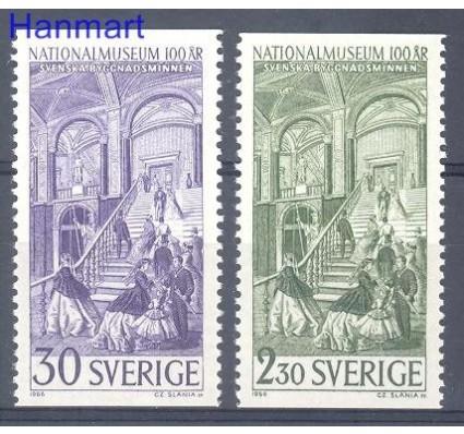 Znaczek Szwecja 1966 Mi 549-550 Czyste **