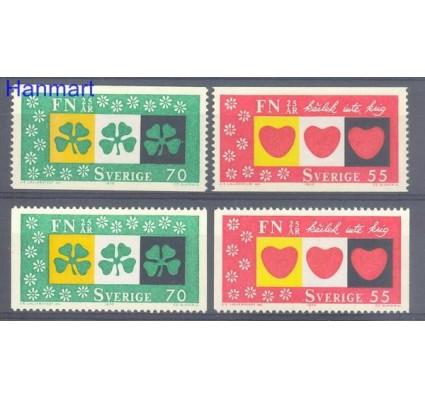 Znaczek Szwecja 1970 Mi 690-691 Czyste **