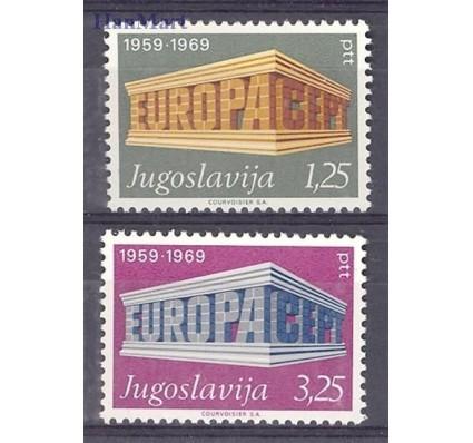 Znaczek Jugosławia 1969 Mi 1361-1362 Czyste **