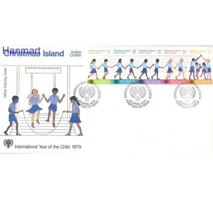 Znaczek Wyspa Bożego Narodzenia 1979 Mi 110-114 FDC