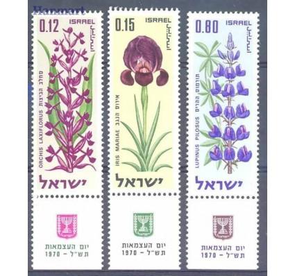 Znaczek Izrael 1970 Mi 470-472 Czyste **
