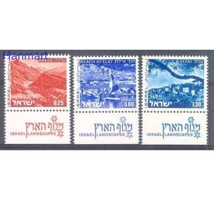 Znaczek Izrael 1974 Mi 623-625 Czyste **
