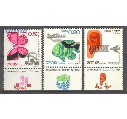 Znaczek Izrael 1975 Mi 656-657A+658C Czyste **