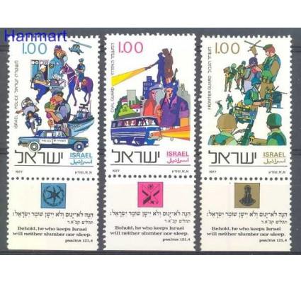 Znaczek Izrael 1977 Mi 710-712 Czyste **