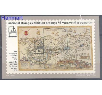 Znaczek Izrael 1986 Mi bl 32 Stemplowane