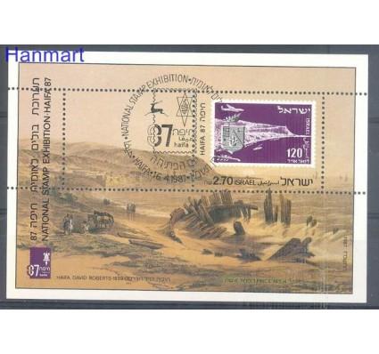 Znaczek Izrael 1987 Mi bl 34 Stemplowane