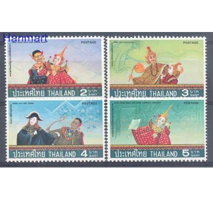Znaczek Tajlandia 1977 Mi 841-844 Czyste **