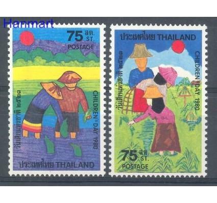 Znaczek Tajlandia 1980 Mi 932-933 Czyste **