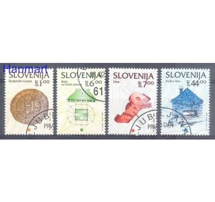 Znaczek Słowenia 1993 Mi 39-42 Stemplowane