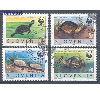 Znaczek Słowenia 1996 Mi 131-134 Stemplowane