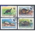 Słowenia 1996 Mi 131-134 Stemplowane