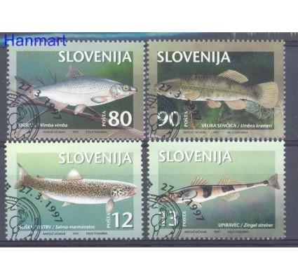 Znaczek Słowenia 1997 Mi 178-181 Stemplowane