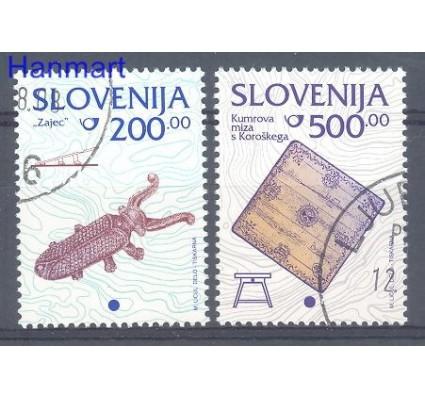 Znaczek Słowenia 1998 Mi 245-246 Stemplowane