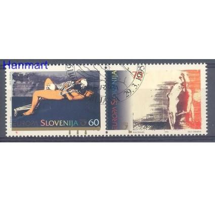 Znaczek Słowenia 1995 Mi 110-111 Stemplowane