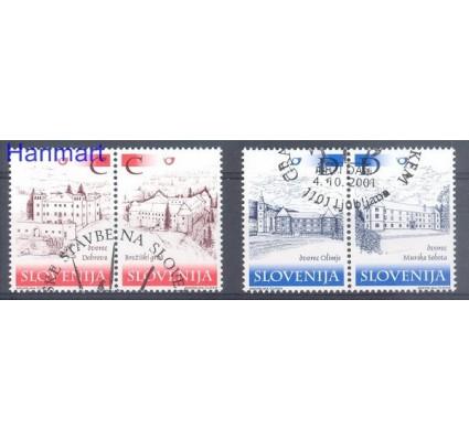 Znaczek Słowenia 2001 Mi 369-372 Stemplowane