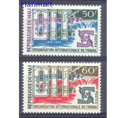 Znaczek Mali 1969 Mi 186-187 Czyste **