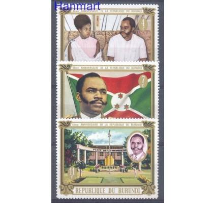 Znaczek Burundi 1970 Mi 667-669 Czyste **