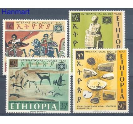 Znaczek Etiopia 1967 Mi 572-575 Czyste **
