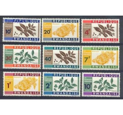 Znaczek Rwanda 1963 Mi 27-35 Czyste **